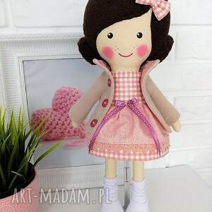Prezent MALOWANA LALA ANASTAZJA, lalka, zabawka, przytulanka, prezent, niespodzianka
