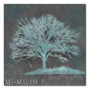 Obraz XXL DRZEWO 23 -80x80cm designe na płótnie, drzewo, piękne,