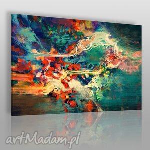 Obraz na płótnie - ABSTRAKCJA NOWOCZESNY 120x80 cm (22201), nowoczesny, abstrakcja