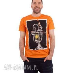 """Bluzka z plakatem """"Jazz Jamboree , jazz, t-shirt, męska, plakat, bluzka, trąbka"""