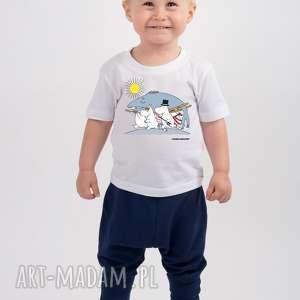 hand-made koszulki licencjonowana koszulka dziecięca muminki ryba