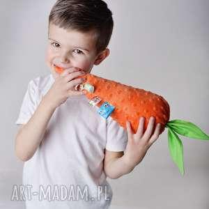 zabawka sensoryczna marchewka - marchewka-poduszka, zabawka-sensoryczna