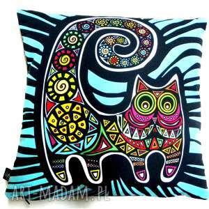poduszki poduszka z kotami, poduszka, kot, koty dom