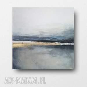pejzaż-obraz akrylowy formatu 60/60 cm, pejzaż, kwadrat, minimalizm, obraz