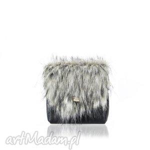 torebka mini puro 847 fur 4, futrzana, torebka, puro, mini, skórzana, rękodzieło