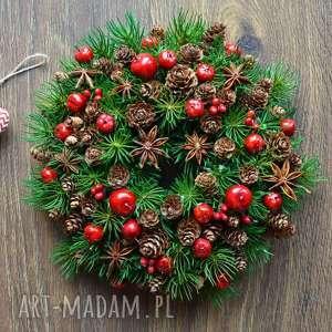 Pomysł na prezent: Wianek z anyżem dekoracje wooden love wianek