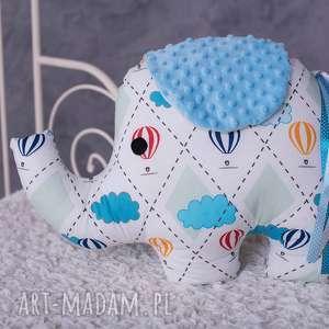 Prezent Poduszka dziecięca słonik, poduszka-słoń, fajny-prezent, przytulanka