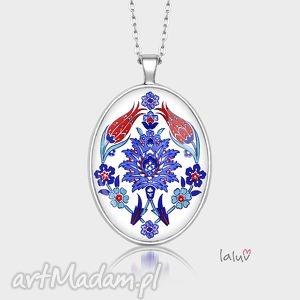 naszyjniki medalion owalny ornament, grafika, ornamenty, ludowe, folk, etniczne