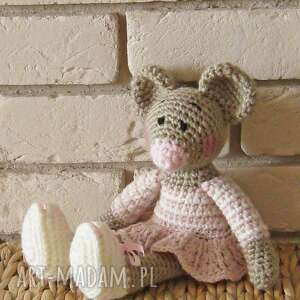 myszka matylda, maskotka, zabawka, przytulanka, upominek, prezent, dekoracja