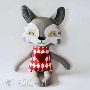 oryginalny prezent, wilk grześ 45 cm, wilk, maskotka, przytulanka, dziecko