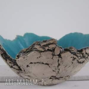 artystyczna miska sardynia m, miseczka, dekoracyjna, ceramika, ceramiczna ceramika