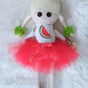 lalki szmaciana lalka w arbuzy, szmaciana, szyta, szmacianka, lalka, prezent