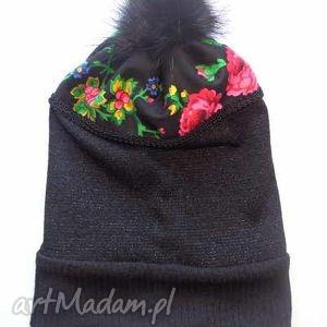 ręcznie wykonane czapki czapka folk design aneta larysa knap
