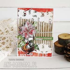 ręcznie robione pomysły na święta prezenty kartka świąteczna, 506