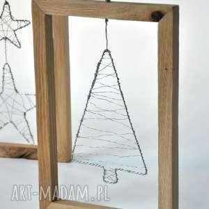 ramki dębowe, świąteczna dekoracja, święta, bożenarodzenia, choinka