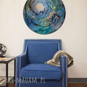 krajobraz księżycowy 37, planeta, księżyc, alexandra13art, semeniuk, ziemia