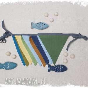 Madika design: proporczyki, girlanda, baner do wystroju dziecięcego pokoju 5 - lniana girlanda, sesja