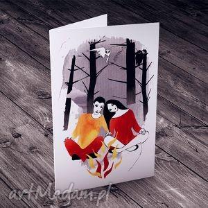 hand-made kartki nas dwoje... karteczka