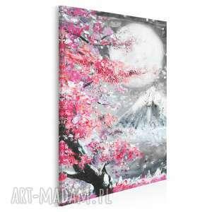 vaku dsgn obraz na płótnie - japonia wiśnia pejzaż w pionie 50x70 cm 89903