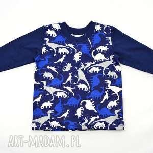 bambi dinozaury koszulka, t-shirt, bluzka z długim rękawem bluzka, organiczna