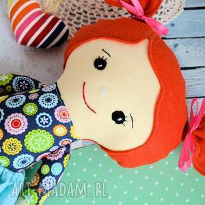 handmade lalki lalka rojberka - słodki łobuziak ewunia 50