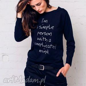 bluzki simple person bluzka oversize, bluzka, longsleeve, moda, casual