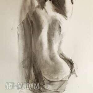 dom rysunek kobieta 100x70