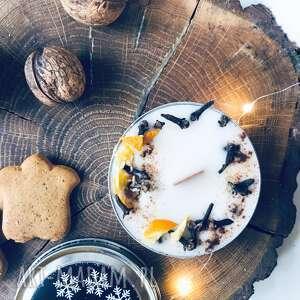 Święta prezenty! Świeca sojowa świąteczna - zapach piernik