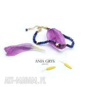 amulet lapis lazuli, lapislazuli, bransoletka, amulet, talizman, gwiazdka