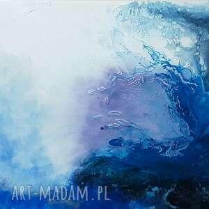 fala obraz akrylowy na płótnie 100x70cm artystki adriany laube - abstrakcja
