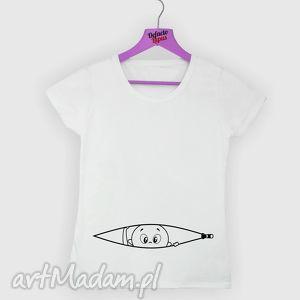 Prezent Koszulka z nadrukiem ciążowym, dla kobiety w ciąży, mama, ciążowa, żona