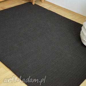 handmade dywany dywan gorzka czekolada