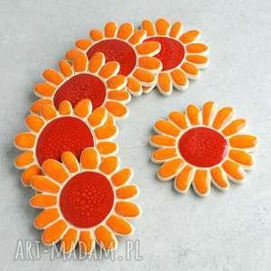 Kwiatek - magnes, kwiaty, łąka, kuchnia, dekoracja, ozdoba