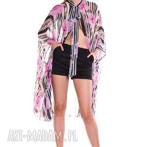 bluzka hortensja, moda, paski, wyjątkowy prezent