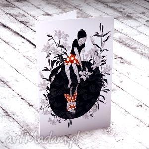 Prezent Podarunek... kartka okolicznościowa, kartki, okolicznościowe, kobiece