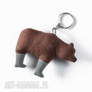 brelok odblaskowy - misiek, miś, niedźwiedź, bezpieczny, odblaskowy, zwierzę