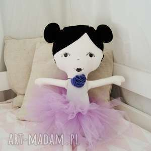 Lalka ręcznie robiona Laura, lalka, doll, lala, lalkaszmacianka, baletnica