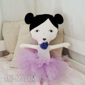 Lalka ręcznie robiona Laura, doll, lala, lalkaszmacianka, baletnica