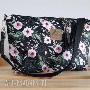 ręczne wykonanie torebki torebka standard - boho róże