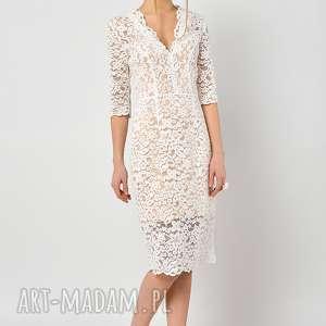 hand-made sukienki przytulia - koronkowa sukienka ślubna