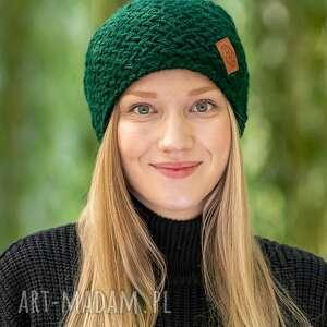 explorer lasy amazonii, czapka, zimowa, wełniana, wełna, zima, ręcznierobiona