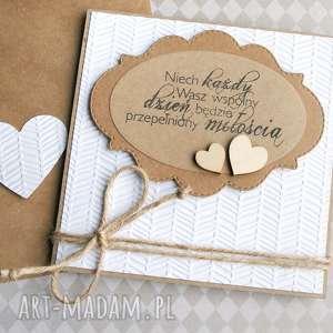 kartka ślubna :: eko faktura, ślub