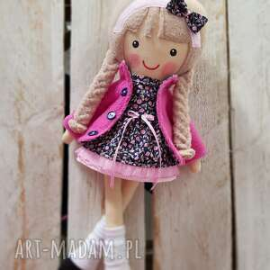lalki malowana lala jagoda, lalka, przytulanka, niespodzianka, zabawka, prezent