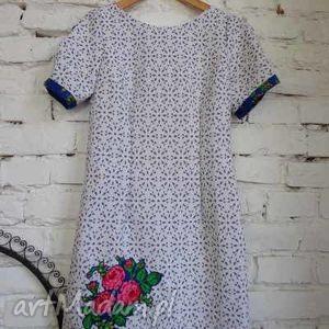 nowość sukienka folk design aneta larysa knap wiosna 2014, ubrania