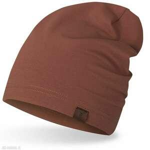 czapka smerfetka, wiosenno-jesienna, krasnalka, czapka, dresowa