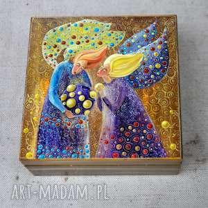 pudełko Wielka tajemnica małych sekretów , anioł, aniołe, tajemnica, sekret, 4mara