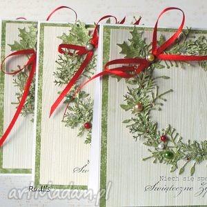 scrapbooking kartki komplet kartek - rezerwacja dla pani marty, kartki, świąteczne
