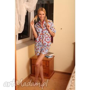 bielizna sowy sówki piżamka ska, bielizna, nocna, piżma, szorty