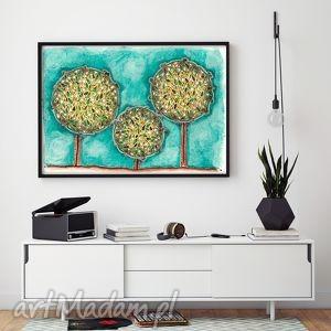 Drzewa A2, drzewa, plakat