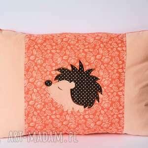 handmade pokoik dziecka poduszka - jeż